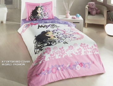 DETSKI BED COVER M.GIRLS